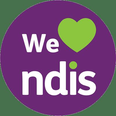 We Heart NDIS logo